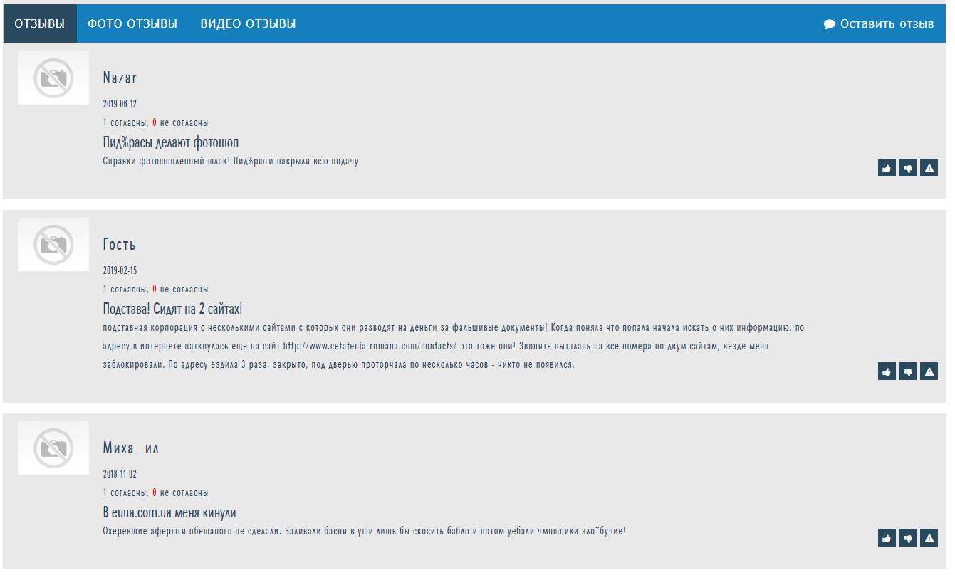 Отзывы о euua.com.ua на otzyvy.org.ua